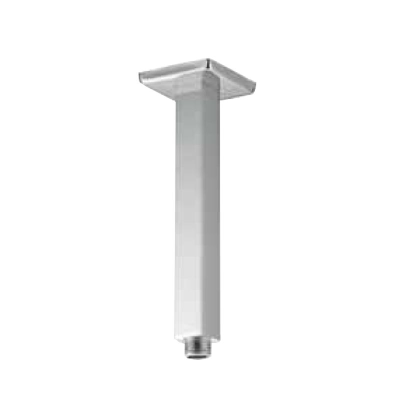 braccio-doccia-verticale-quadro-12-cm-20-in-ottone