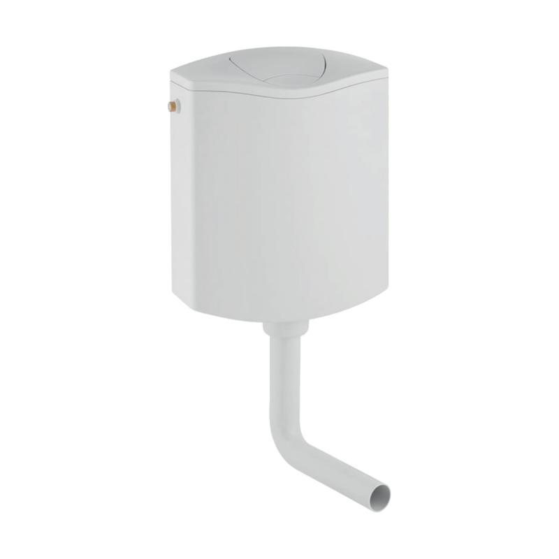 cassetta-a-zaino-modello-ap116-doppio-scarico-bianca